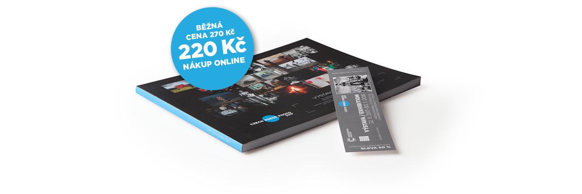 Vstupenka na Czech Press Photo a tištěný katalog